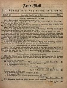Amts-Blatt der Königlichen Regierung zu Oppeln, 1867, Bd. 52, St. 10