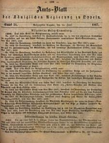 Amts-Blatt der Königlichen Regierung zu Oppeln, 1867, Bd. 52, St. 24
