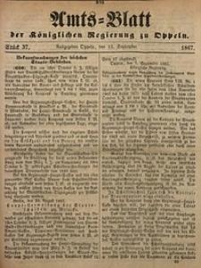 Amts-Blatt der Königlichen Regierung zu Oppeln, 1867, Bd. 52, St. 37