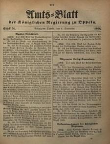 Amts-Blatt der Königlichen Regierung zu Oppeln, 1868, Bd. 53, St. 36