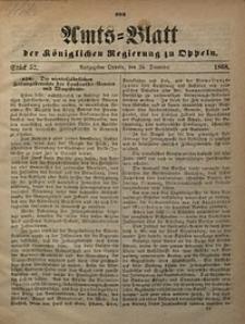 Amts-Blatt der Königlichen Regierung zu Oppeln, 1868, Bd. 53, St. 52