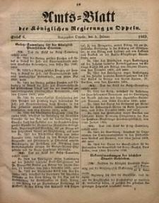 Amts-Blatt der Königlichen Regierung zu Oppeln, 1869, Bd. 54, St. 6