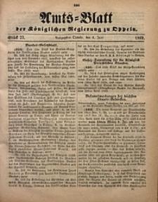 Amts-Blatt der Königlichen Regierung zu Oppeln, 1869, Bd. 54, St. 23