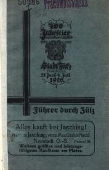 Führer durch Züllz. 700-Jahrfeier der Stadt Zülz