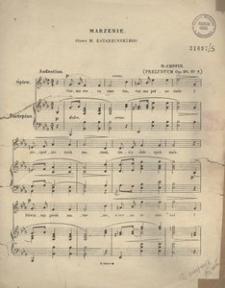 Marzenie. Preludym. Op. 28 No 7