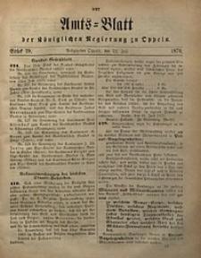 Amts-Blatt der Königlichen Regierung zu Oppeln, 1870, Bd. 55, St. 29