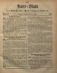 Amts-Blatt der Königlichen Regierung zu Oppeln, 1870, Bd. 55, St. 32