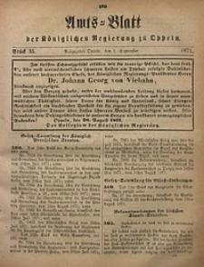 Amts-Blatt der Königlichen Regierung zu Oppeln, 1871, Bd. 56, St. 35