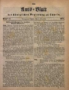 Amts-Blatt der Königlichen Regierung zu Oppeln, 1871, Bd. 56, St. 48