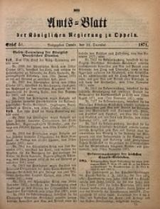 Amts-Blatt der Königlichen Regierung zu Oppeln, 1871, Bd. 56, St. 51