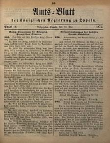 Amts-Blatt der Königlichen Regierung zu Oppeln, 1872, Bd. 57, St. 19