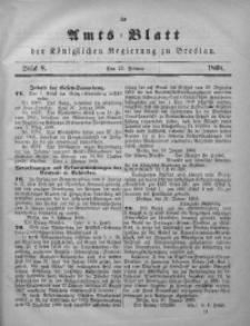 Amts-Blatt der Königlichen Regierung zu Breslau, 1868, Jg. 59, St. 8