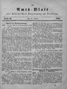 Amts-Blatt der Königlichen Regierung zu Breslau, 1868, Jg. 59, St. 43