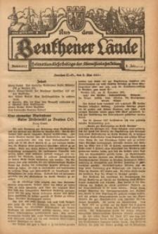 Aus dem Beuthener Lande, 1924, Jg. 1, Nr. 17