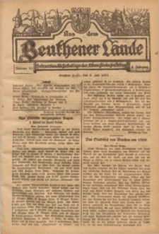Aus dem Beuthener Lande, 1924, Jg. 1, Nr. 25