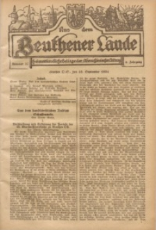 Aus dem Beuthener Lande, 1924, Jg. 1, Nr. 37