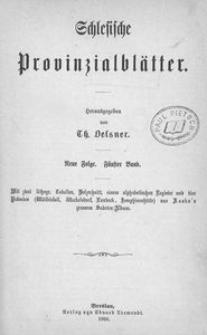 Schlesische Provinzialblätter. Neue Folge, Bd. 5 (1866)