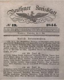 Beuthner Kreisblatt, 1844, No 19
