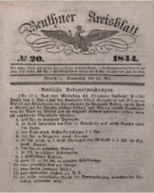 Beuthner Kreisblatt, 1844, No 20