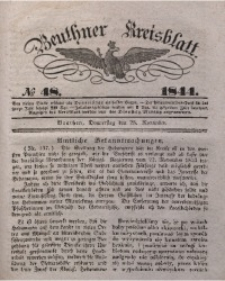 Beuthner Kreisblatt, 1844, No 48