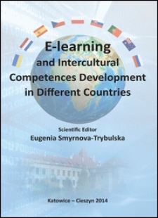 E-learning and intercultural competences development in different countries : monograph
