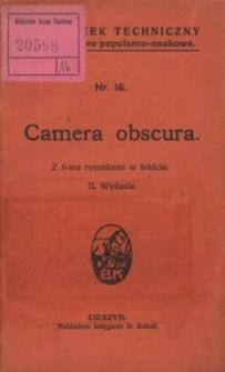 Camera obscura. - Wyd. 2