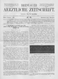 Breslauer Aerztliche Zeitschrift, 1879, Jg. 1, No. 21