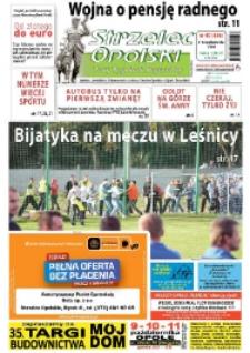 Strzelec Opolski : twój tygodnik regionalny : Izbicko, Jemielnica, Kolonowskie, Leśnica, Strzelce Opolskie, Ujazd, Zawadzkie 2009, nr 40 (536).
