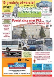 Strzelec Opolski : twój tygodnik regionalny : Izbicko, Jemielnica, Kolonowskie, Leśnica, Strzelce Opolskie, Ujazd, Zawadzkie 2009, nr 48 (544).