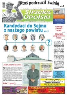 Strzelec Opolski : twój tygodnik regionalny 2011, nr 40 (638).