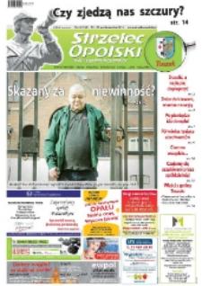 Strzelec Opolski : twój tygodnik regionalny : Strzelce Opolskie, Izbicko, Jemielnica, Kolonowskie, Leśnica, Ujazd, Zawadzkie, Toszek 2013, nr 42 (742).