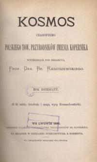 Kosmos, 1885, R. 10