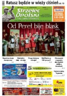 Strzelec Opolski : twój tygodnik regionalny : Strzelce Opolskie, Izbicko, Jemielnica, Kolonowskie, Leśnica, Ujazd, Zawadzkie, Toszek 2015, nr 11 (813).