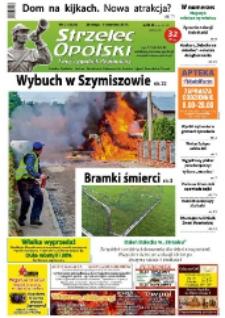 Strzelec Opolski : twój tygodnik regionalny : Strzelce Opolskie, Izbicko, Jemielnica, Kolonowskie, Leśnica, Ujazd, Zawadzkie, Toszek 2015, nr 21 (823).