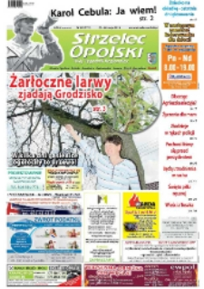 Strzelec Opolski : twój tygodnik regionalny : Strzelce Opolskie, Izbicko, Jemielnica, Kolonowskie, Leśnica, Ujazd, Zawadzkie, Toszek 2014, nr 20 (771).