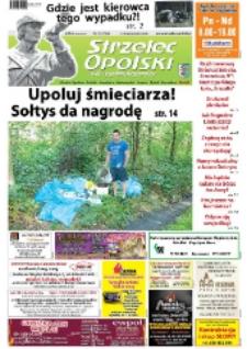 Strzelec Opolski : twój tygodnik regionalny : Strzelce Opolskie, Izbicko, Jemielnica, Kolonowskie, Leśnica, Ujazd, Zawadzkie, Toszek 2014, nr 35 (786).