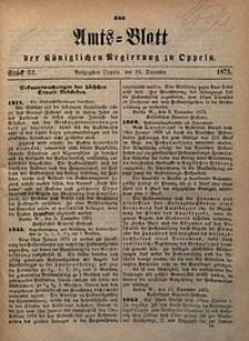 Amts-Blatt der Königlichen Regierung zu Oppeln, 1875, Bd. 60, St. 52