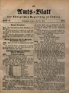 Amts-Blatt der Königlichen Regierung zu Oppeln, 1876, Bd. 61, St. 25