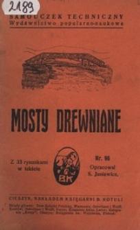 Mosty drewniane