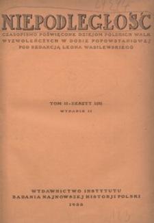 Niepodległość, T. 2 (kwiecień 1929 - wrzesień 1930). - Wyd. 2