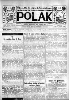 Polak, 1913, R. 9, nr 42