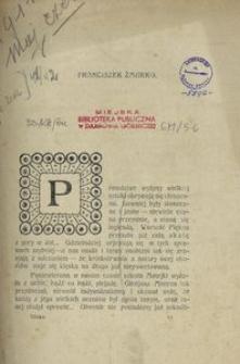 Sfinks. Czasopismo Literackie, Artystyczne i Naukowe 1911, nr 5-6
