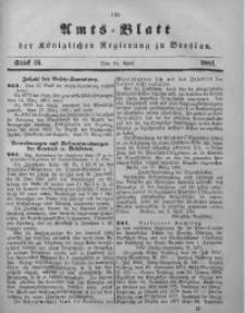 Amts-Blatt der Königlichen Regierung zu Breslau, 1881, Bd. 72, St. 15