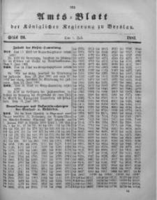 Amts-Blatt der Königlichen Regierung zu Breslau, 1881, Bd. 72, St. 26