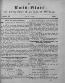 Amts-Blatt der Königlichen Regierung zu Breslau, 1881, Bd. 72, St. 34