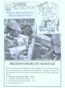 Diariusz Głubczycki : pierwsza niezależna gazeta powiatu głubczyckiego 2010, nr 3 (17).