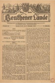 Aus dem Beuthener Lande, 1925, Jg. 2, Nr. 36