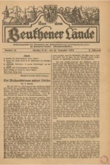 Aus dem Beuthener Lande, 1925, Jg. 2, Nr. 51