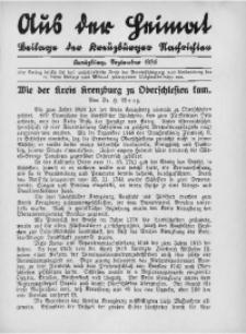 Aus der Heimat, 1935, September