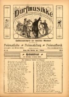 Durfmusikke, 1914, No. 10